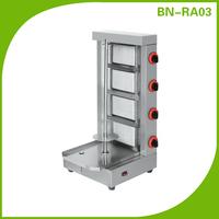 Automatic Stainless Steel Kebab grilling/ Doner Shawarma Machine (4 Burners)BN-RA03