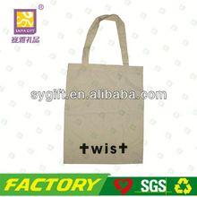 high quality plain heavy duty cotton canvas tote bag