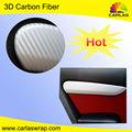 Carlas 3D en fiber de carbone vinyle autocollant, Adhésif autocollant 3D