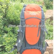 waterproof outdoor backpack Camping bag lightweight comfortable mountain hiking bags/55l hiking backpack bag