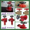 Flange inlet Oblique fire hydrant valve