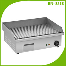 Electric Grooved Grill Griddle Kitchen Equipment BN-821B