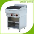 Equipamentos de cozinha para restaurantes lava rock grill bn600-g600c