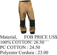 En cuir travail pantalon / travail porte / Trouser.2015