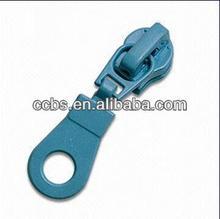 #5 ring Pull Auto Lock Metal Slider