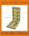 dobrável de madeira placa mancala jogo para crianças