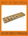 Popular de madeira Mancala jogo de tabuleiro para crianças