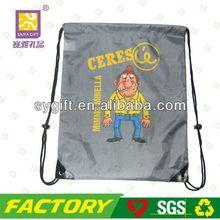 2014 newest handmade drawstring laundry bag