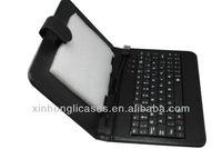 For 7'' Galaxy Tab Leather Case Keyboard,7'' tab3 keyboard case