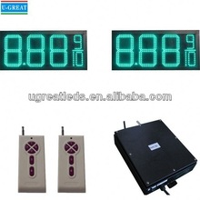 New product barber sign LCD remoter control outdoor waterproof high brightness power supply