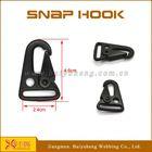 wholesale black gun snap hooks