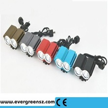 Bicycle accessories bike lamp with 8.4v 4400mAh Battery Pack