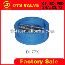CV-SY-416 ductile iron swing check valve double plate