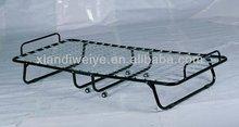 2014 cheap hotel metal rollaway single folding beds