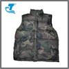 Mens Hunting Sports Green Camoflauge Puffer Winter Vest Jacket Waistcoat