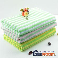 Super absorbent and super soft non odor microfiber bath towels