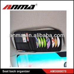 ANMA Auto/Car CD organizer bag/ adjustable CD organiser