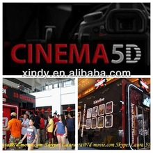 hydraulic 5d cinema 5d simulator 5d kino truck mobile cinema 5d
