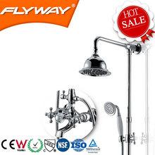 2014 China high quality D4B11 ceramics wall mounted folding shower head