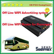 Novel passenger bus free WIFI surf the internet system