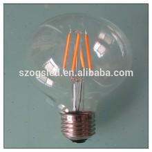 G80 E27 LED edison vendimia bombilla antigua / LED filamento edison bombilla LED