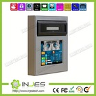 Wifi Network Touch Screen thumbprint and iris scanning tools for Bank or Prison Project