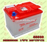 55530(12V/55AH)Car Battery