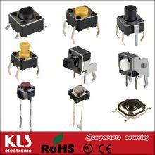micro push button tact switch UL CE ROHS 62