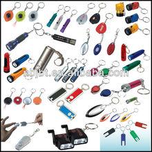Top Quality Promotion Custom Metal Keychain,Cheap Pvc Custom Keychain,led keychain flashlight