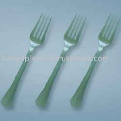 Heavy Weight Disposable Plastic Fork PS Material