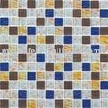 Colorata piscina mosaico di vetro pareteinterna/scale peri piccoli spazi