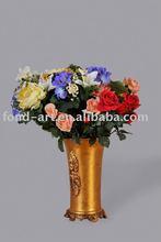 Antique gold Flower vase