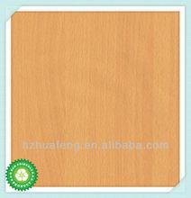 Haute qualité pas cher hêtre auto - adhésif papier décoratif pour meubles, Plancher de Huafeng usine