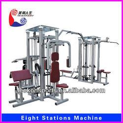 LK-2020 8 Station abdominal gym machine/lifetime fitness equipment for sale