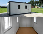 prefabricated container house as office hotel new plan