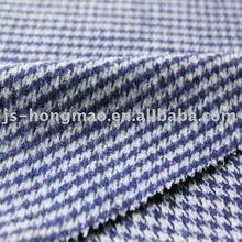 Checked Jacquard Woolen Fashion Fabric