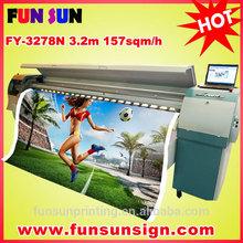 Challenge / Infiniti FY3278N Solvent Printer ( 3.2m 8 SPT50pl head, 157sqm/hour )