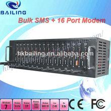 Professional PCI card or USB ,16 PORT GSM/GPRS sms MODEM POOL Q2403