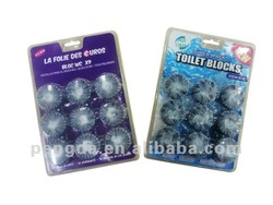 9PC toilet freshener block (50G)