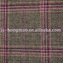 New product ! Checked Tartan Woolen Wool Fabric