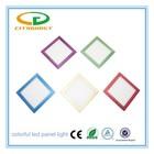 IP44 indoor lighting colorful frame 36W super energy saving 2'X2' 600x600mm led panel light