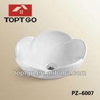 Novel and Beatiful Ceramic Artistic Wash Basin for Bathroom PZ-6007