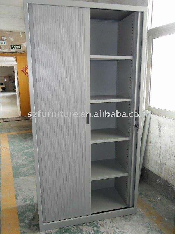 4 Shelves Metal Roller Shutter