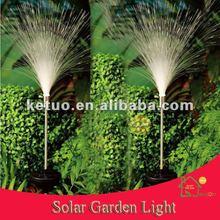 กลางแจ้งใยแก้วนำแสงโคมไฟพลังงานแสงอาทิตย์