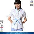 Barato y el nuevo estilo uniforme de enfermera de diseño, 2014 caliente vender ropa de médicos