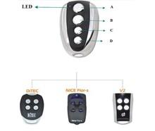 las marcas europeas de niza faac bft compatible con mando a distancia
