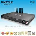 Dinstar مجاني للمنتجات العالمية P2P الاتصال GSM 8 منافذ بوابة