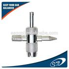 4 way car tire valve repair tool