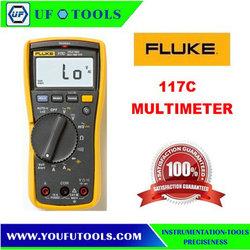 Fluke 117C F117C VoltAlert TRUE RMS Digital Backlight Multimeter w/ Bag F117C