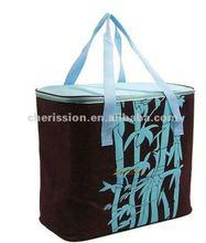 Insulated promotional bottle cooler bag